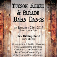 Join us for the Barn Dance on January 21st, 2017