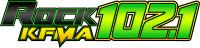 Rock 1021 KFMA Logo - RGB Gradiant PNG