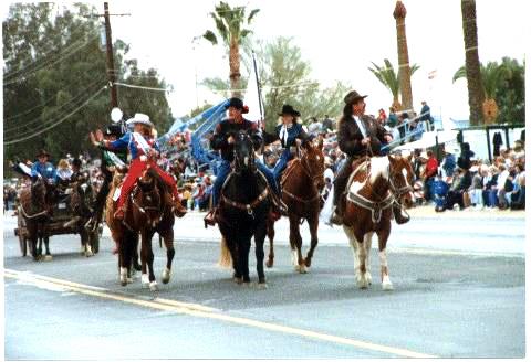 The Parade Tucson Rodeo Parade