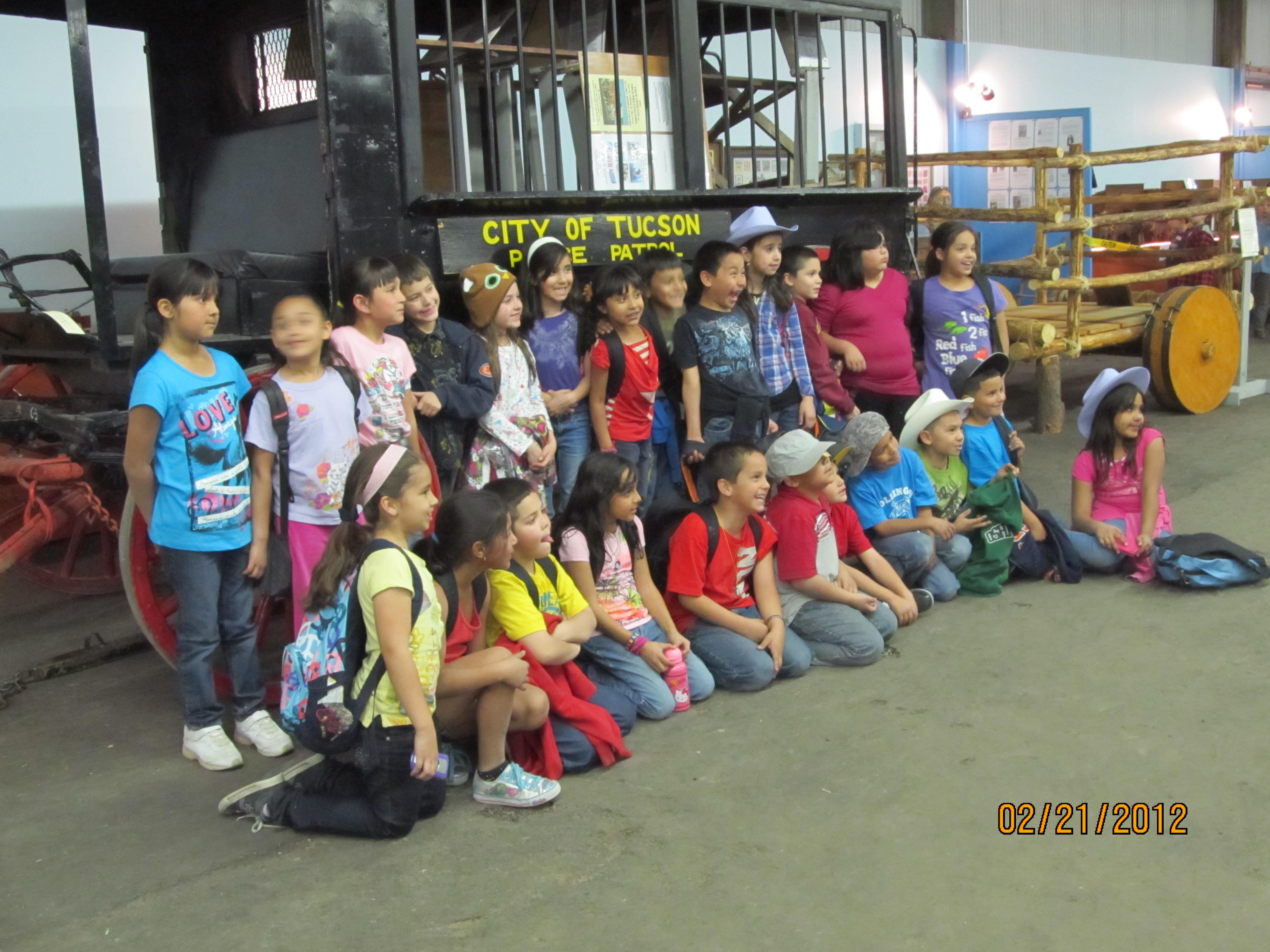 School Children at Parade Museum