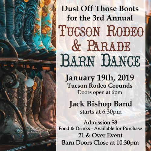 Barn Dance 2019 January buy Tickets